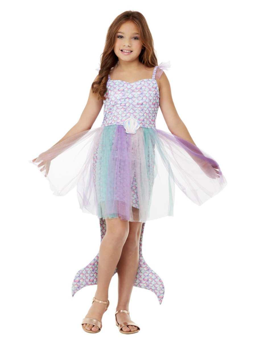 Girls Seashell Mermaid Costume