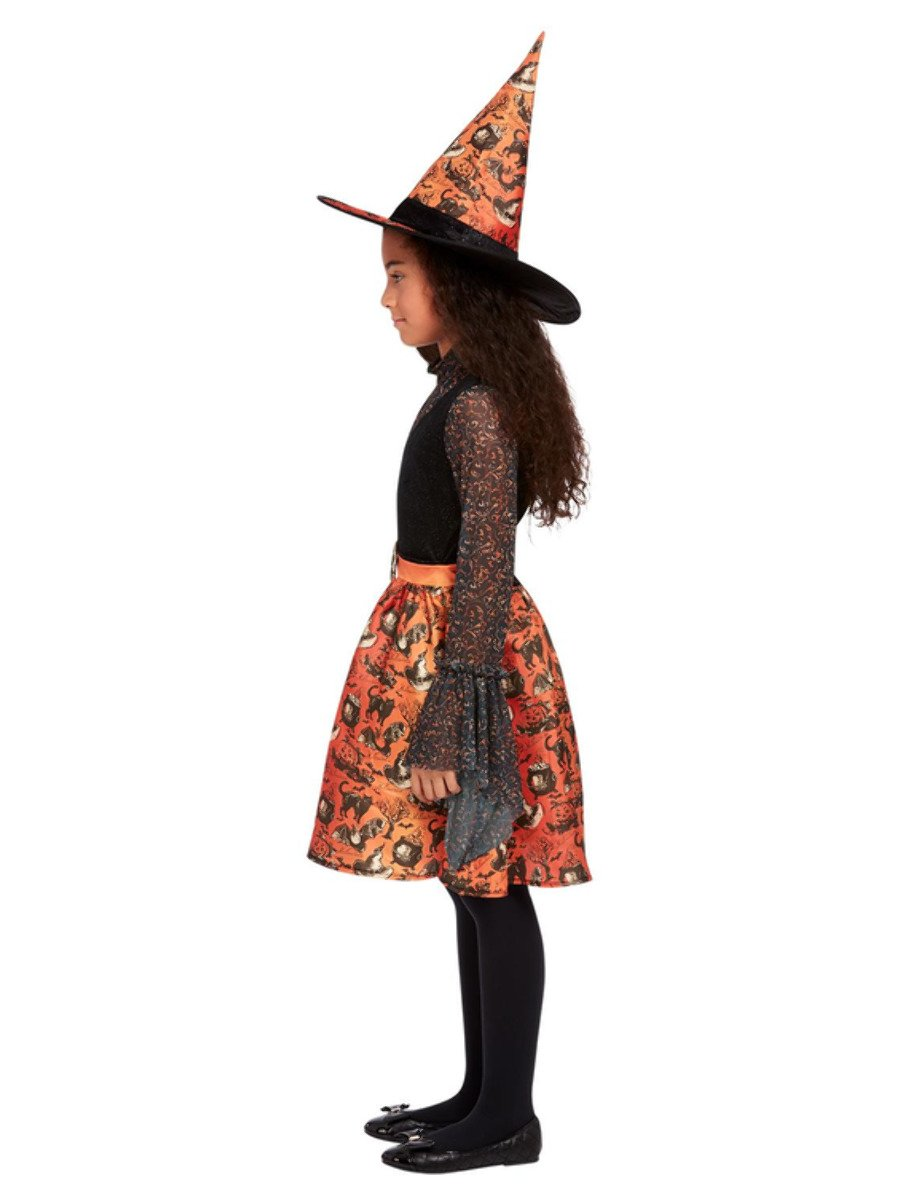 Vintage Witch Costume for Girls