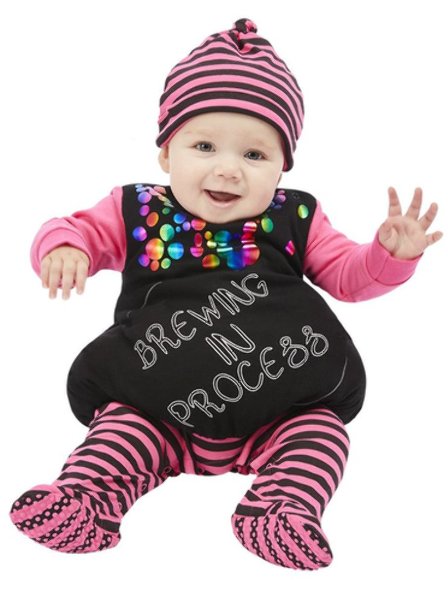 Brewing In Process Witch Baby Costume