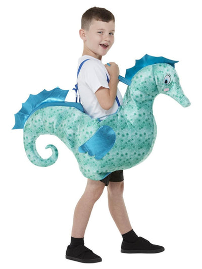Kids Ride-In Seahorse Costume