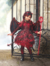 Punk Devil Costume For Girls