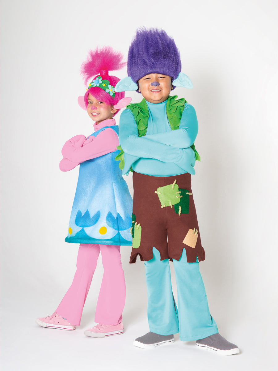 Premium Trolls the Movie Branch Costume for Boys