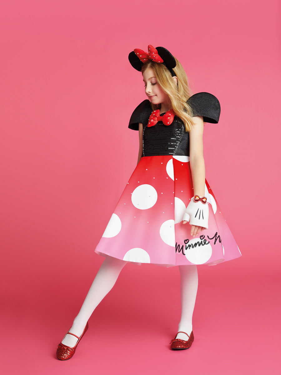 Premium Minnie Mouse Fashion Dress for Girls