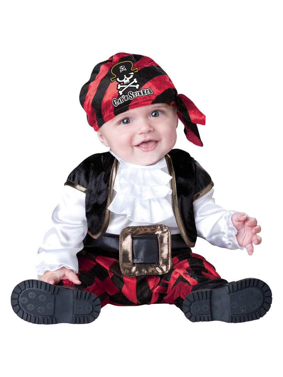 Cap'n Stinker Costume for Baby
