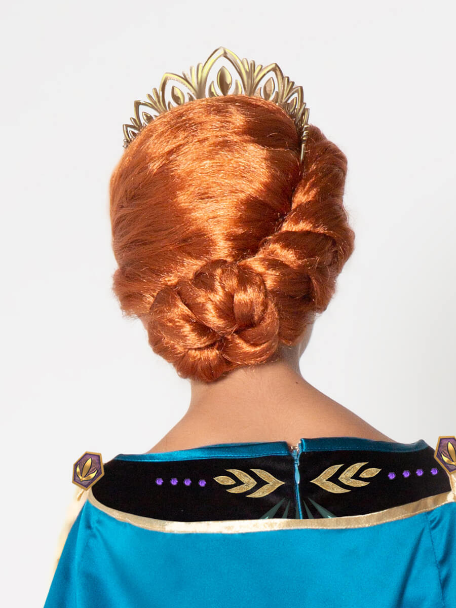 Ultimate Collection Disney Frozen Queen Anna Wig