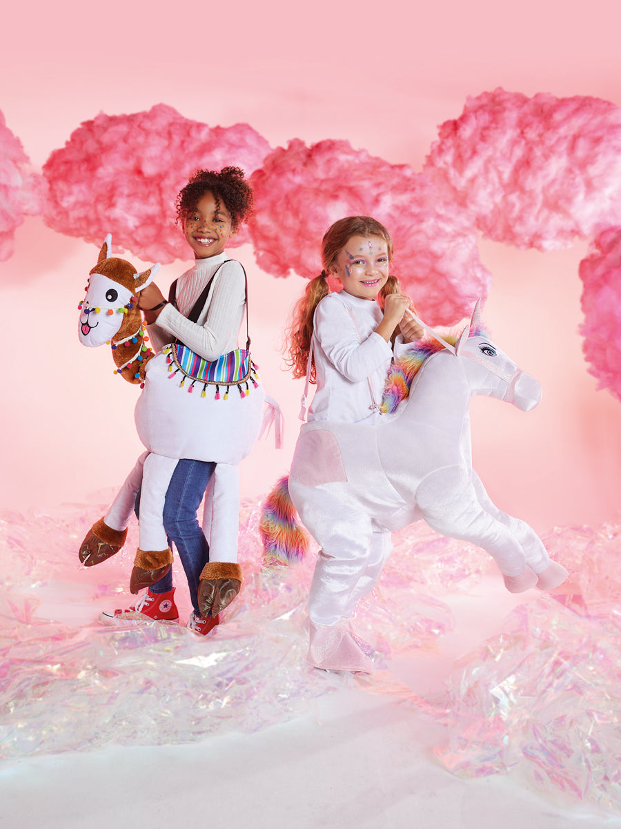 Kids Ride-In Unicorn Costume