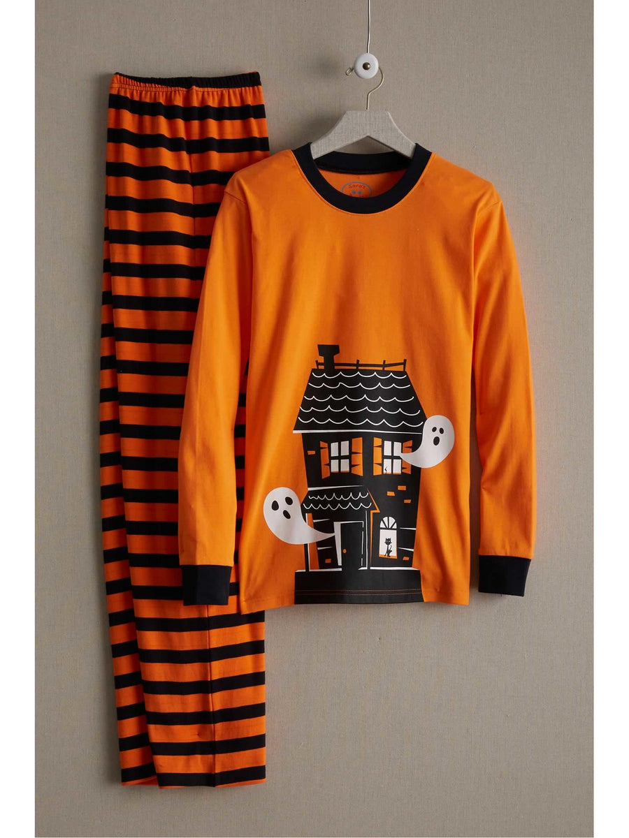 Adults Spooky House Pj's