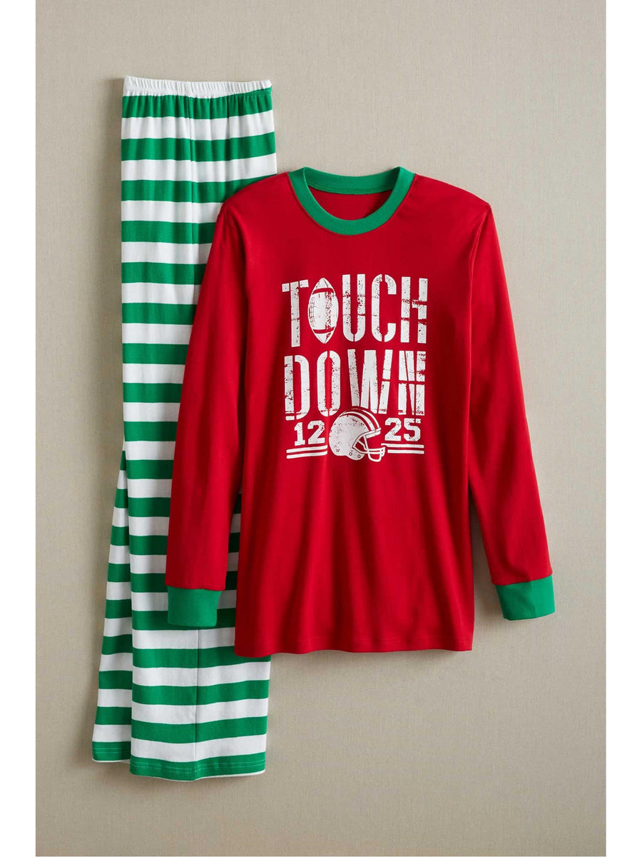 Adults Holiday Touchdown PJ's