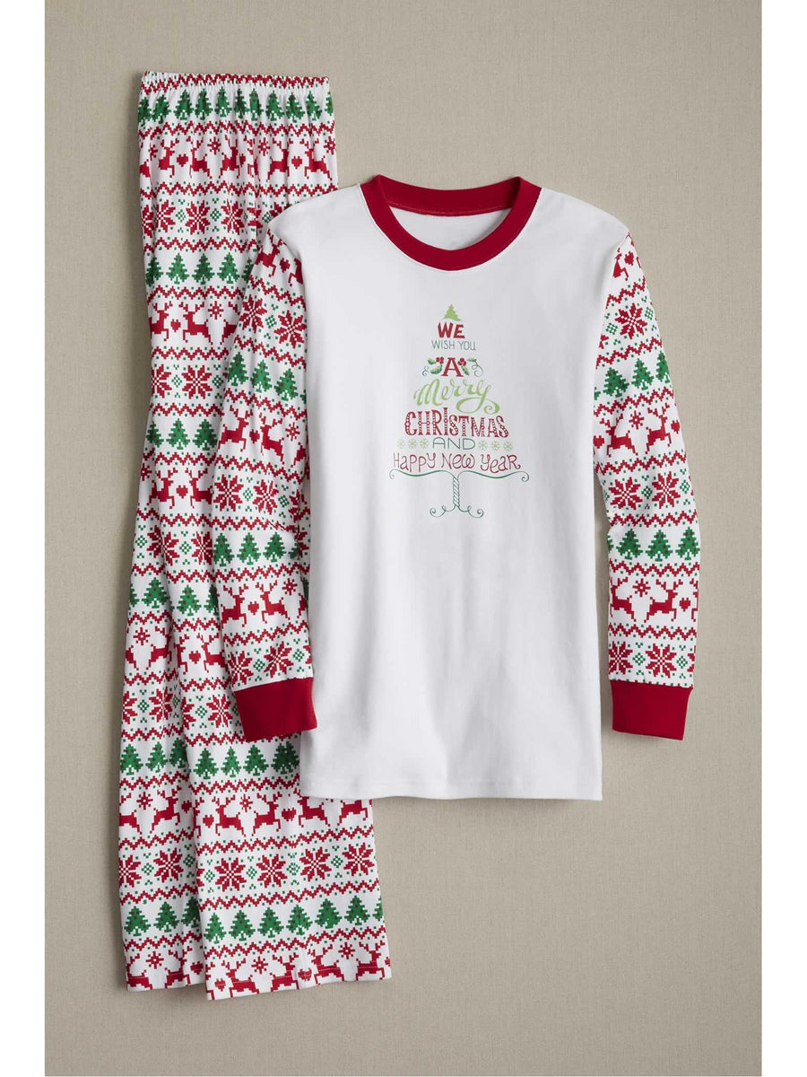 Adults Merry Fair Isle PJ's