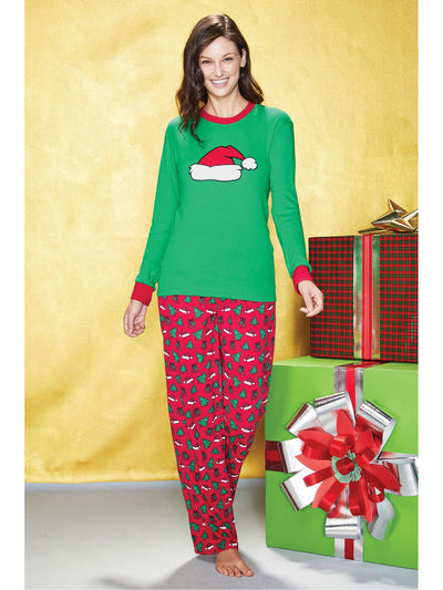 Adults Santa Hat PJ's