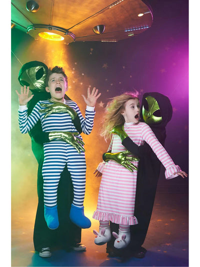 Alien Abduction Boys Costume  gre alt1