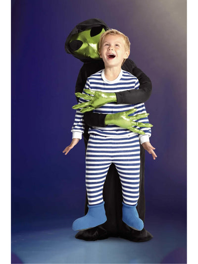 Alien Abduction Costume For Kids  mlt alt2
