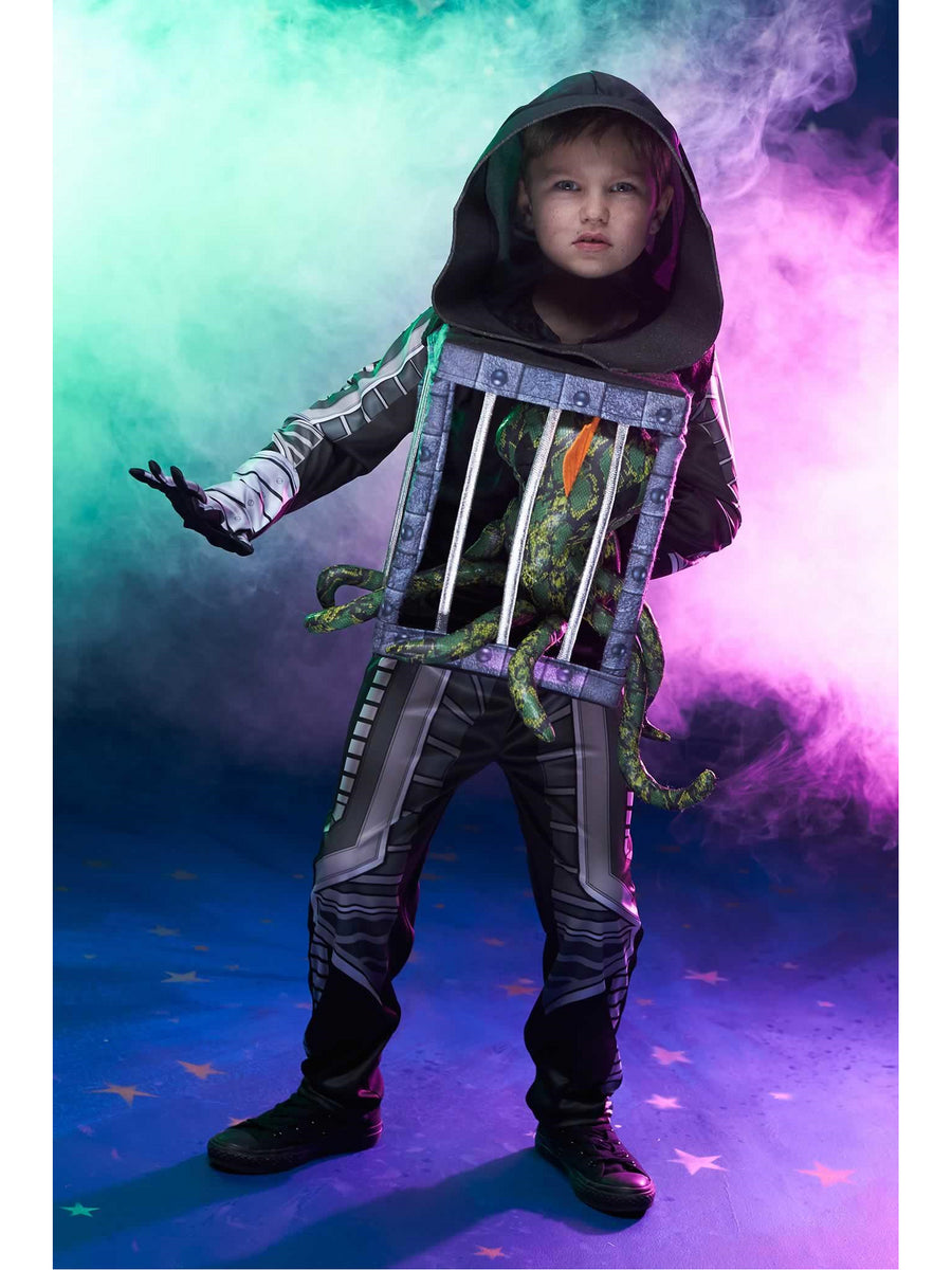 Alien in Cage Costume for Kids