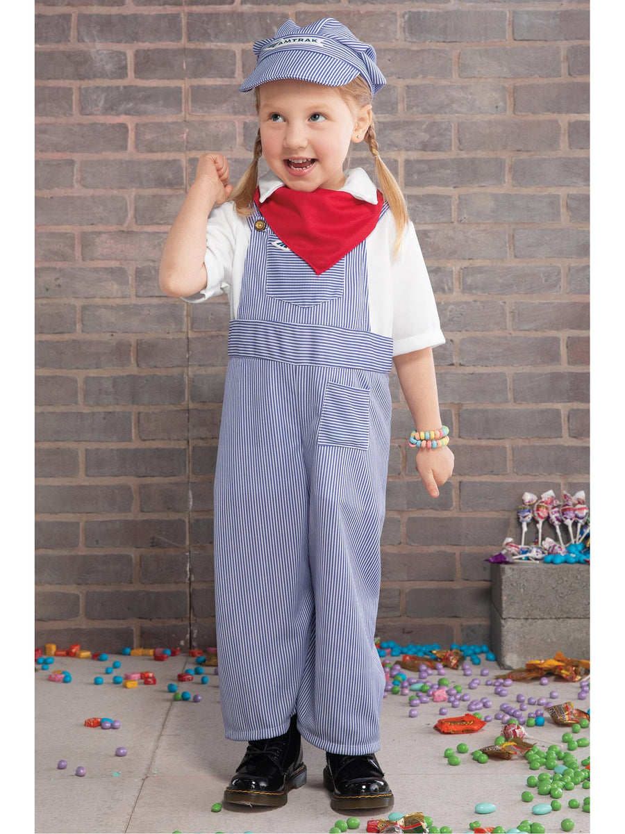 Amtrak Train Engineer Costume for Kids