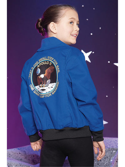 Apollo 11 Flight Jacket for Kids  bl alt1