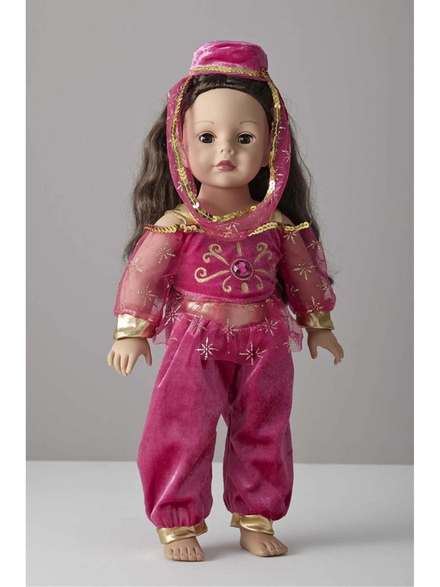 Arabian Genie Doll Costume