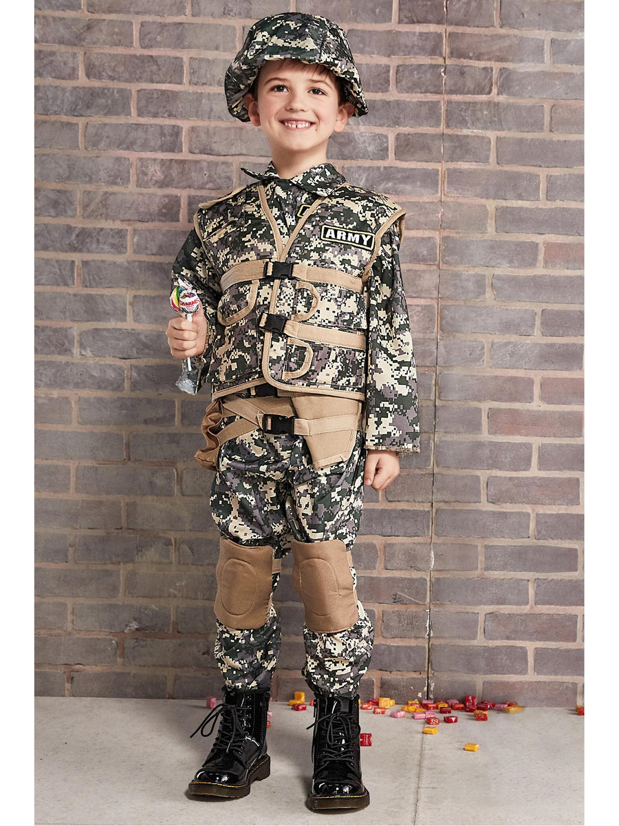 Army Ranger Deluxe Costume for Kids