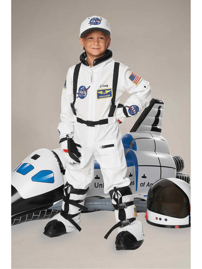 Astronaut Space Bootcovers For Kids  whi alt1