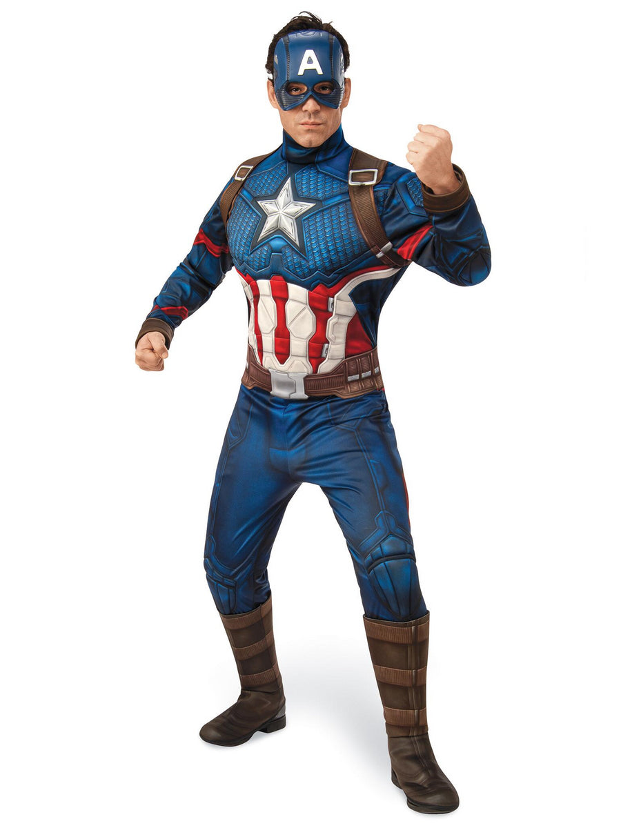 Avengers Endgame Captain America Costume for Adults