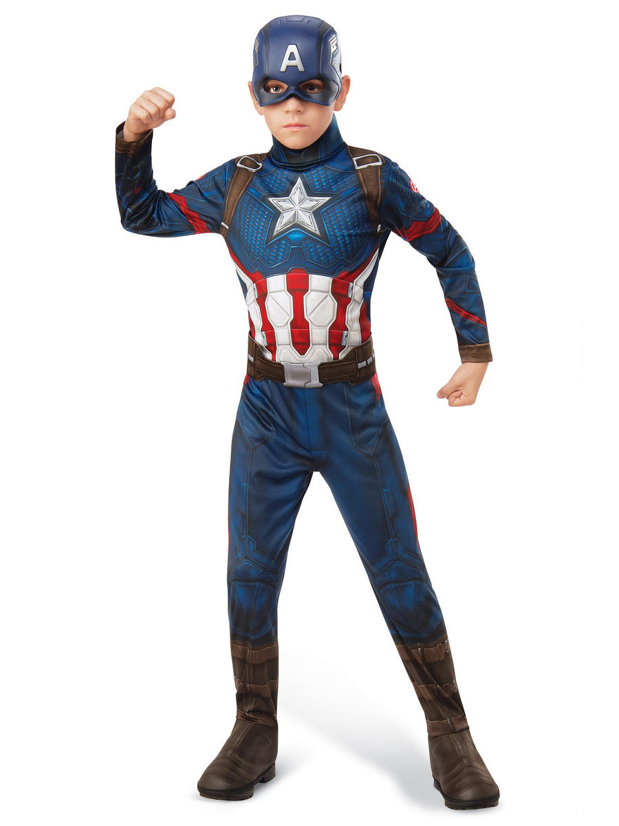 Avengers Endgame Captain America Costume for Kids