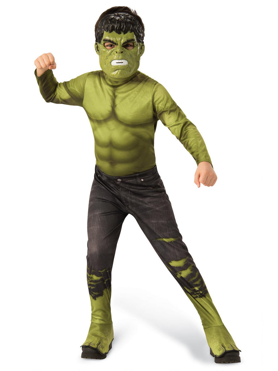 Avengers Endgame Hulk Costume for Kids