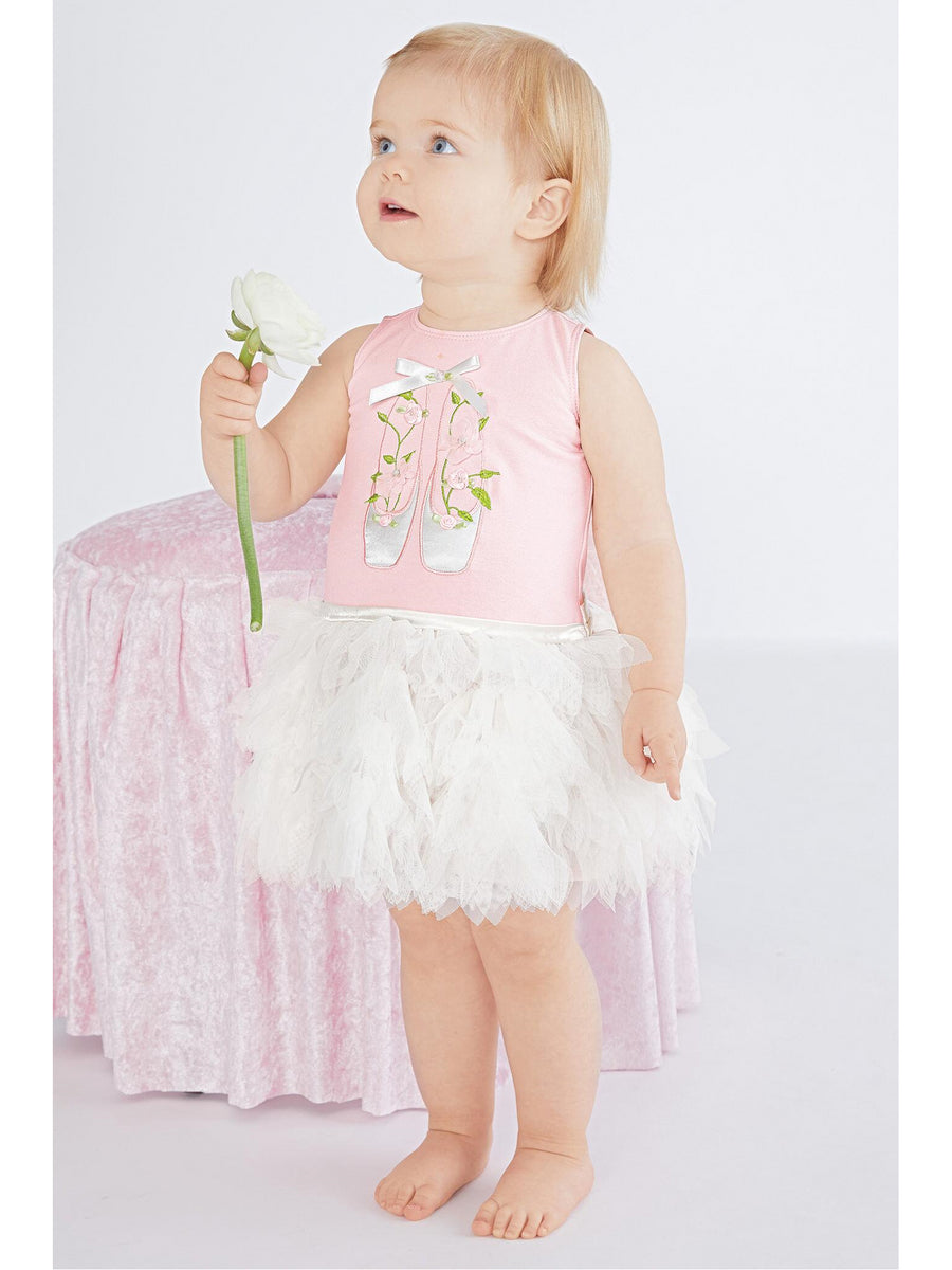 Ballerina Blooms Tutu Dress for Baby