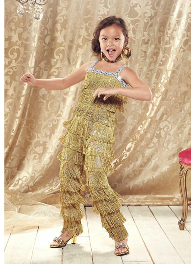 Ballroom Dancer Costume For Girls  gol alt1
