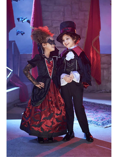 Batty Vampire Costume for Boys  bla alt1