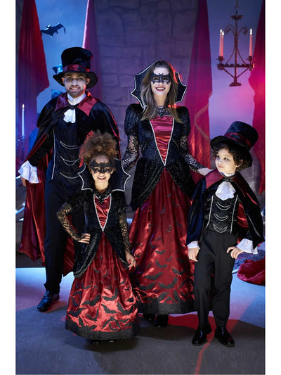 Batty Vampire Costume for Boys  bla alt3