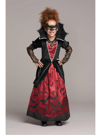 Batty Vampiress Costume for Girls