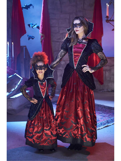 Batty Vampiress Costume for Girls  bla alt2