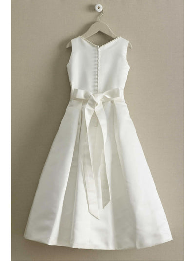 Beaded Satin Special Occasion Dress  whi alt2