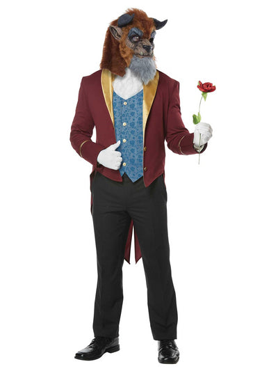 Beast Costume for Adults  multi alt1