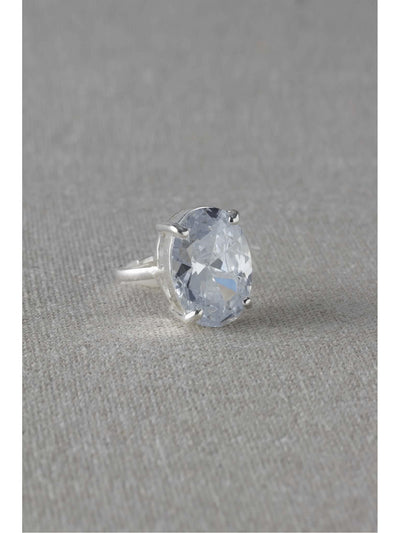 Big Diamond Ring  sil 1