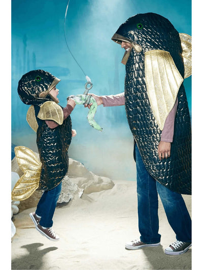 Bigeye Bass Fish Costume For Kids  gol al1