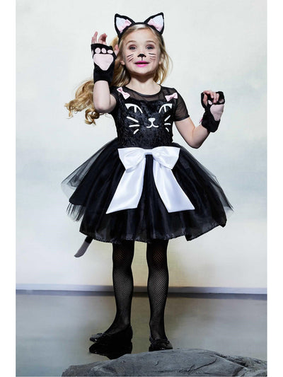 Black Cat Costume for Girls  bla alt1