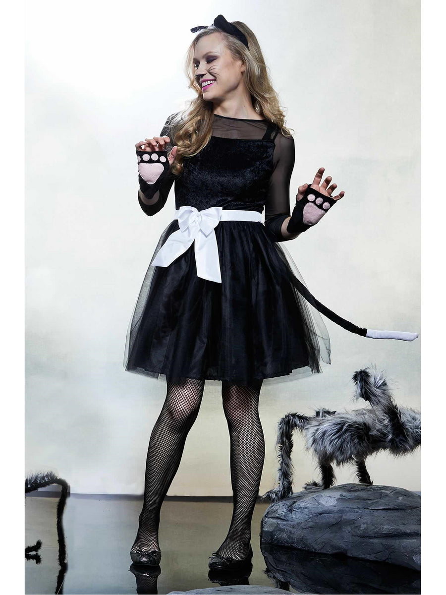 Black Cat Costume for Women