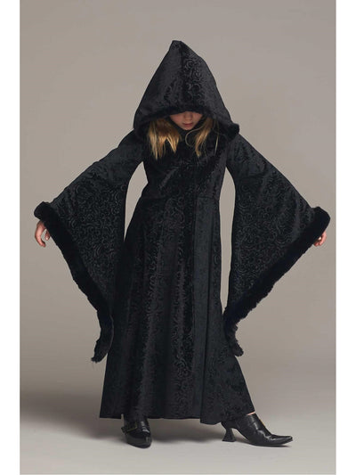 Black Cloak Costume for Girls