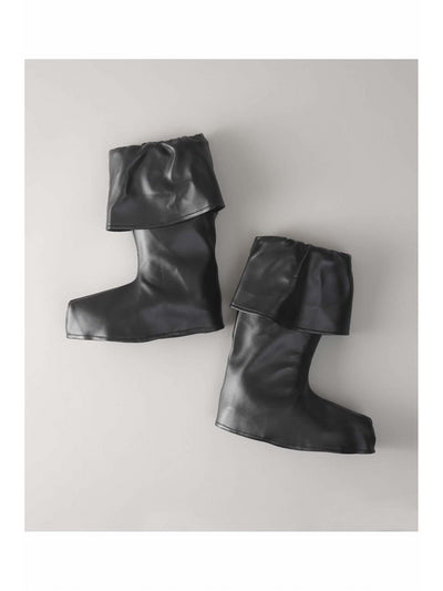 Black Cuffed Bootcovers for Kids