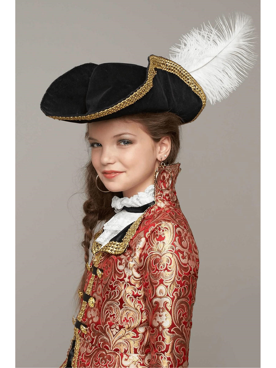 Black Pirate Hat for Kids