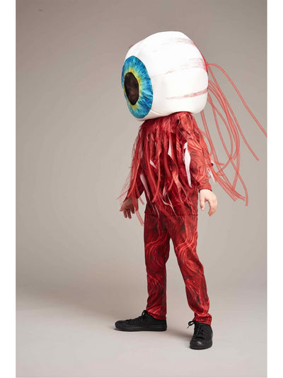 Bloody Eyeball Costume For Kids  mlt alt1