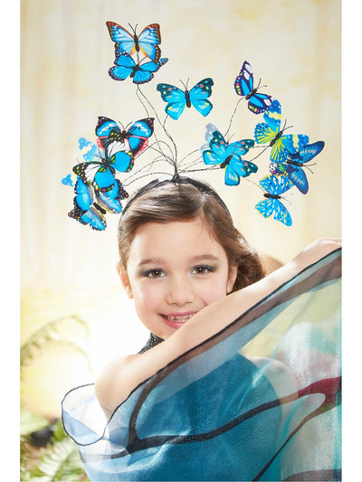 Blue Butterfly Costume for Girls  blu alt3