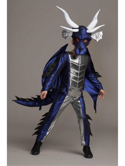 Blue Dragon Costume for Boys
