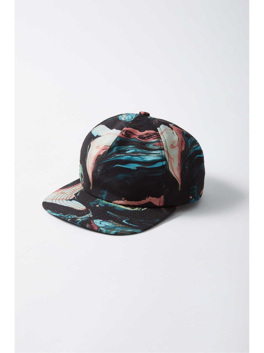 Boys Black Swirl Hat