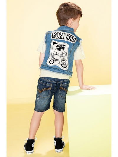 Boys Born Rad Denim Vest