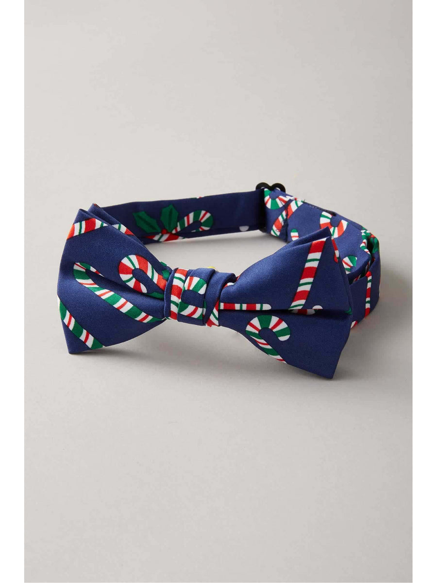 Boys Candy Cane Bow Tie