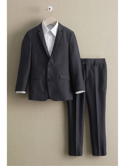 Boys Charcoal Mod Suit