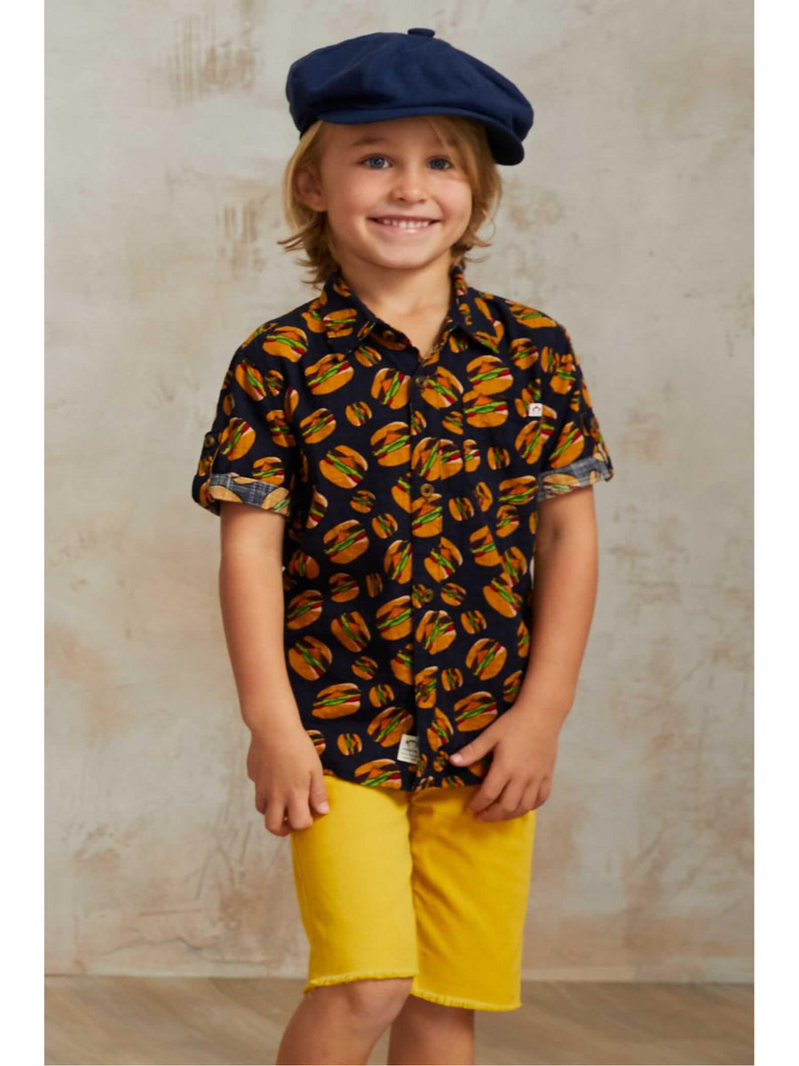 Boys Cheeseburger Shirt