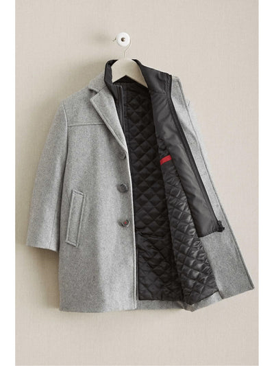 Boys City Coat  gra alt2