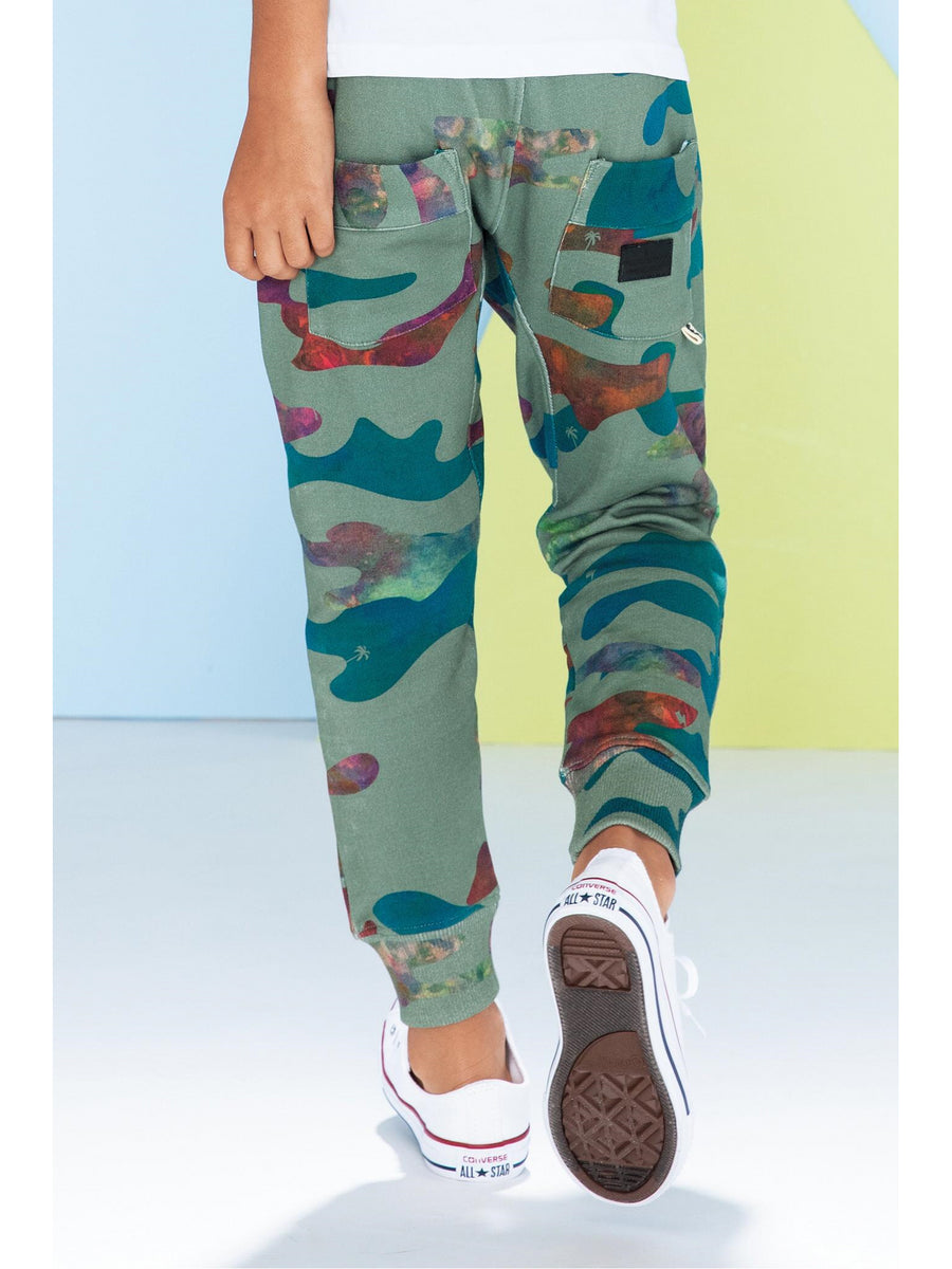 Boys Color Me Camo Sweatpants
